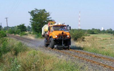 Tájékoztató Vegyszeres gyomirtásról MÁV területeken, vasútvonal hálózatain